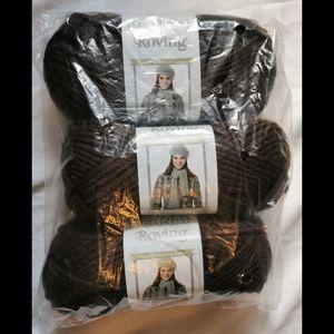 NWT Bernat ChocoBrown Roving Yarn [Bulky 5] 3/$24